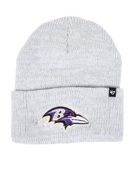 '47 - Baltimore Ravens Brain Freeze Cuff Knit Beanie