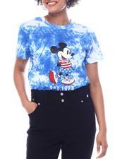 Graphix Gallery - Americana Mickey Tie Dye S/S Tee-2591599