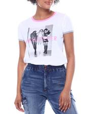 Graphix Gallery - #Whatever Clueless S/S Ringer Tee-2591621