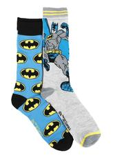 DRJ SOCK SHOP - Batman 2Pk Crew Socks-2591060