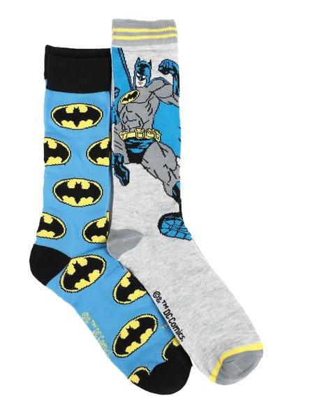 Buyers Picks - Batman 2Pk Crew Socks