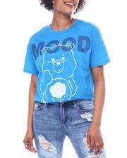 Graphix Gallery - Mood Care Bears S/S Raw Edge Tee-2591610