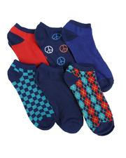 DRJ SOCK SHOP - 6Pk No Show Socks-2591754
