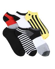 DRJ SOCK SHOP - 6Pk No Show Socks-2591764