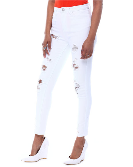 Almost Famous - Destructed Skinny Jeans