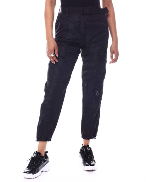 Almost Famous - Pull On Belted Cargo Pants