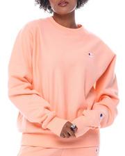 Boyfriend Reverse Weave Crew Neck Pullover