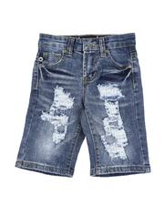 Boys - Rip & Repair Denim Shorts (4-7)-2590839