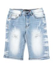 Boys - Distressed Denim Shorts (8-18)-2590892