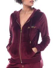 Outerwear - Dazzled Tr Zip Hoodie-2584910