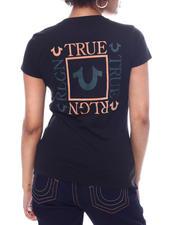 Tees - Box Back True Religion Slim V-Neck-2588923