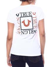 True Religion - Box Back True Religion Slim V-Neck-2589260