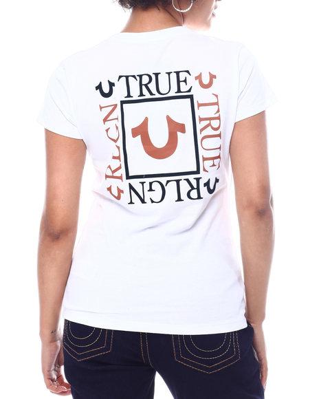 True Religion - Box Back True Religion Slim V-Neck