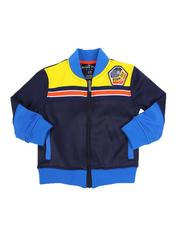 Activewear - Color Block Track Jacket (2T-4T)-2589916