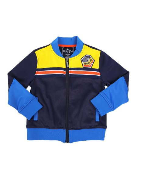 Born Fly - Color Block Track Jacket (4-7)