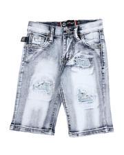 Boys - Rip & Repair Denim Shorts (4-7)-2590050