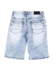 Bottoms - Rip & Repair Denim Shorts (8-18)-2590314