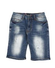 Bottoms - Distressed Denim Shorts (8-18)-2590885