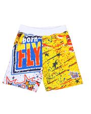 Boys - All Over Print Shorts (4-7)-2589872