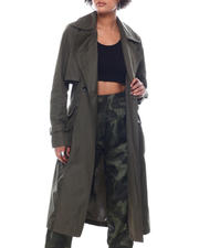 Fashion Lab - NVL Trench W/Combo Fabrics-2591256
