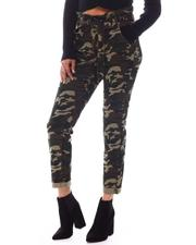 Almost Famous - Paper Bag Ruff Cuff Pants-2591890