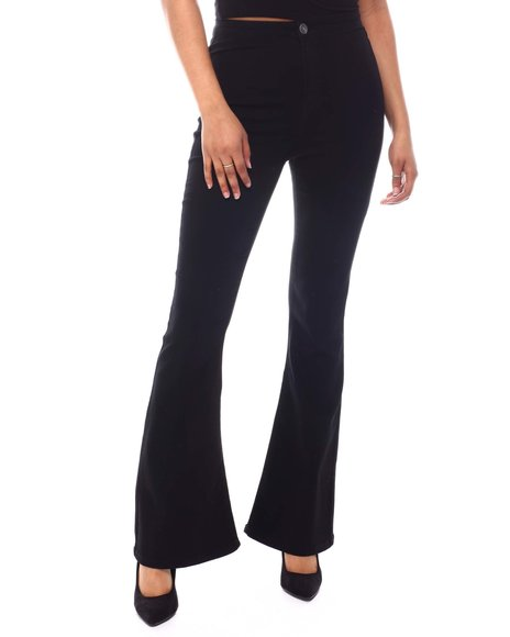 Almost Famous - High Waist Straight  Jeans