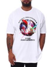 Men - NASA Red Rocket T-Shirt (B&T)-2592180