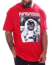 Men - NASA Astro On The Moon T-Shirt (B&T)-2592205