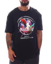 Men - NASA Red Rocket T-Shirt (B&T)-2592176