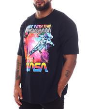 Men - NASA Flying Astro T-Shirt (B&T)-2592222