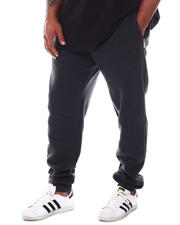 Men - Fleece Sweatpants with Zipper Pockets (B&T)-2592246
