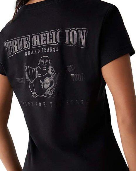 True Religion - Short Sleeve Slim Vneck Tee