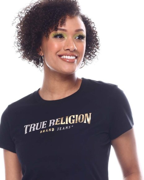 True Religion - Split True Religion Slim Crew