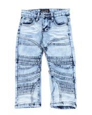 Parish - Cut & Sew Detail Jeans (2T-4T)-2592751