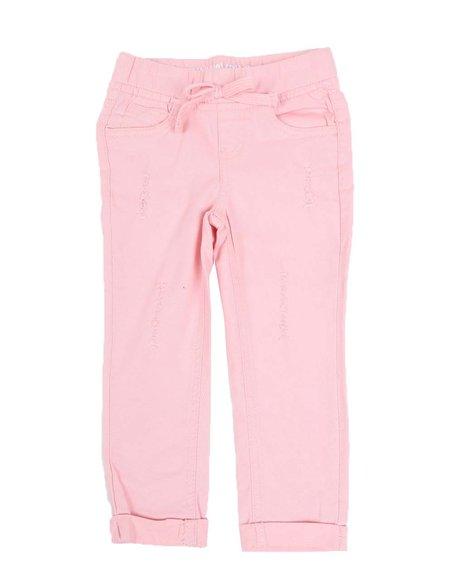 La Galleria - Pull-On Twill Pants (2T-4T)