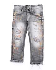 Jeans - Splatter Ripped Skinny Jeans (2T-7)-2592707