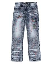 Parish - Paint Splatter Rip & Repair Jeans (8-18)-2592988