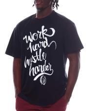 Hustle Gang - Work Hard Hustle Harder T-Shirt (B&T)-2594243