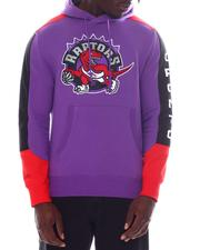 Mitchell & Ness - TORONTO RAPTORS COLLECTION Fusion Fleece Hoodie-2594001