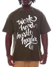 Hustle Gang - Work Hard Hustle Harder T-Shirt (B&T)-2594275