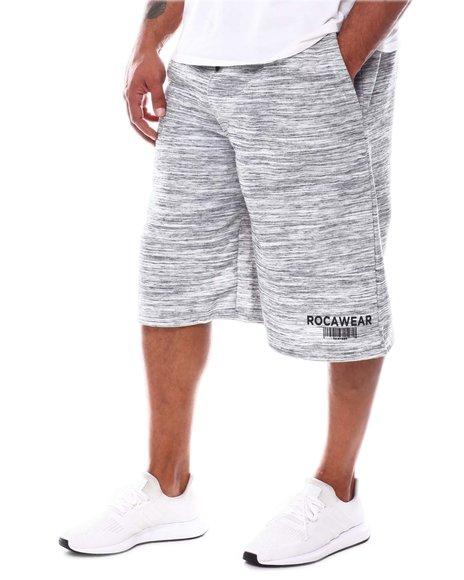 Rocawear - Barcode Fleece Shorts (B&T)