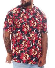 Big & Tall - Skull Shatter Sublimated T-Shirt (B&T)-2594090