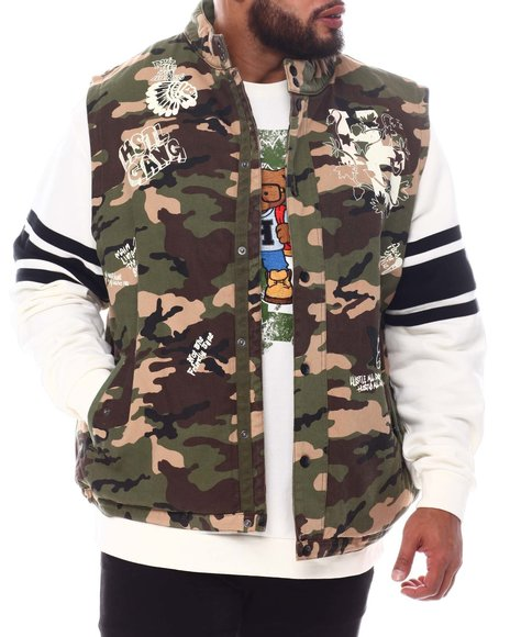 Hustle Gang - Numb Camo Vest (B&T)