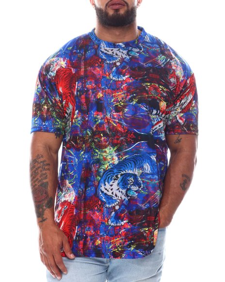 Buyers Picks - Cosmical Skull Tiger Sublimated T-Shirt (B&T)