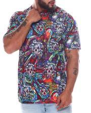 Big & Tall - Snake Skull Sublimated T-Shirt (B&T)-2594201