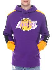 Mitchell & Ness - LOS ANGELES  Fusion Fleece Hoodie-2594560