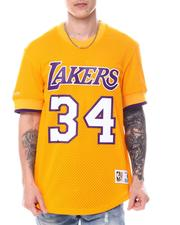 NBA, MLB, NFL Gear - LOS ANGELES LAKERS Shaquille O'Neal Mesh Shirt-2594472