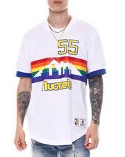 Mitchell & Ness - DENVER NUGGETS Dikembe Mutombo Mesh Shirt-2594539