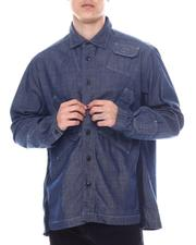 G-STAR - Multi slant pocket relaxed shirt ls-2593979