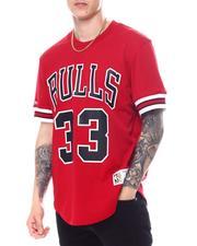Mitchell & Ness - CHICAGO BULLS Scottie Pippen Mesh Shirt-2594610